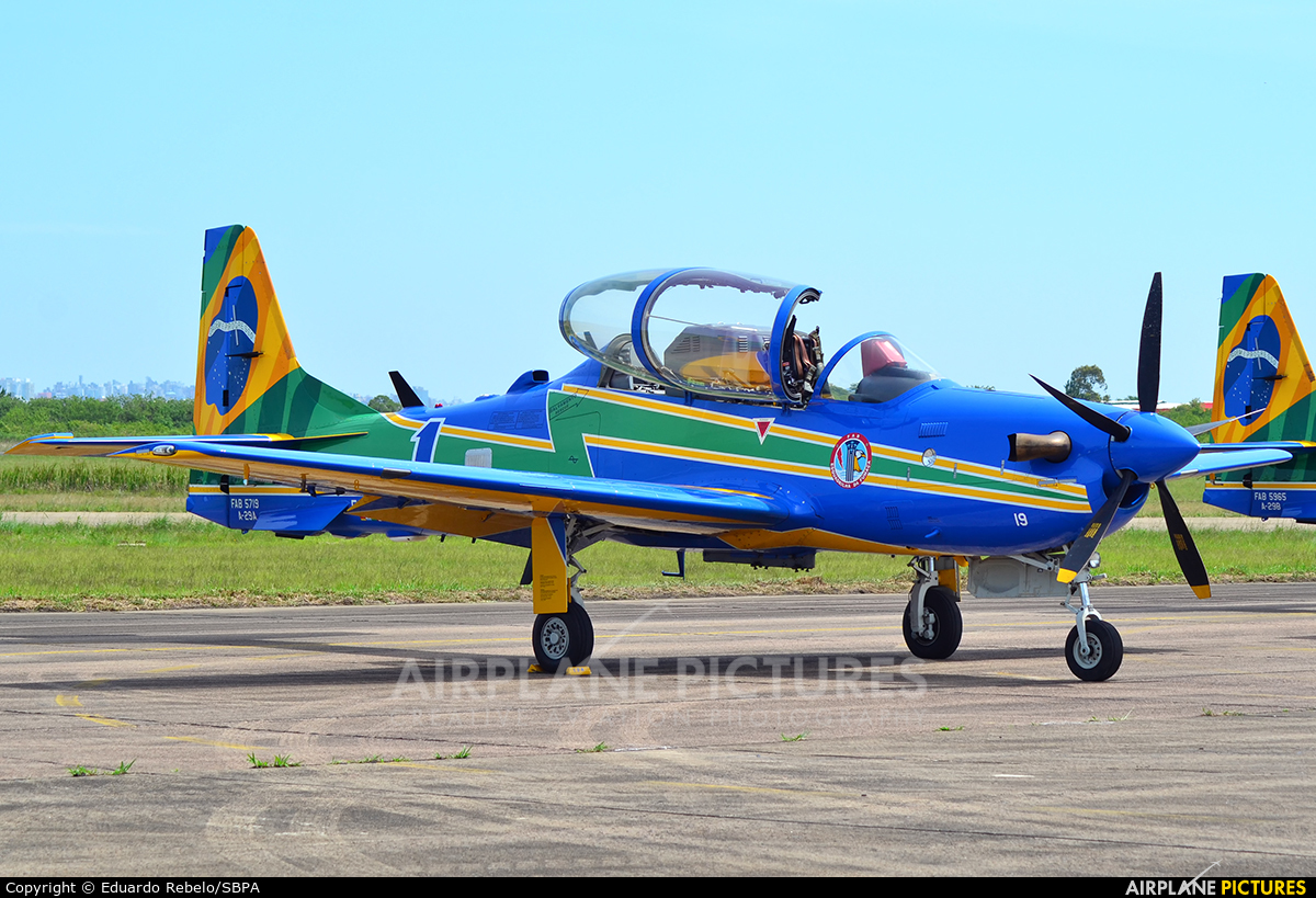 "Brazil - Air Force ""Esquadrilha da Fumaça"" FAB5719 aircraft at Canoas"