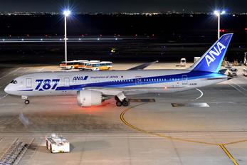 JA809A - ANA - All Nippon Airways Boeing 787-8 Dreamliner