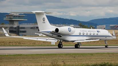678 - Greece - Hellenic Air Force Gulfstream Aerospace G-V, G-V-SP, G500, G550