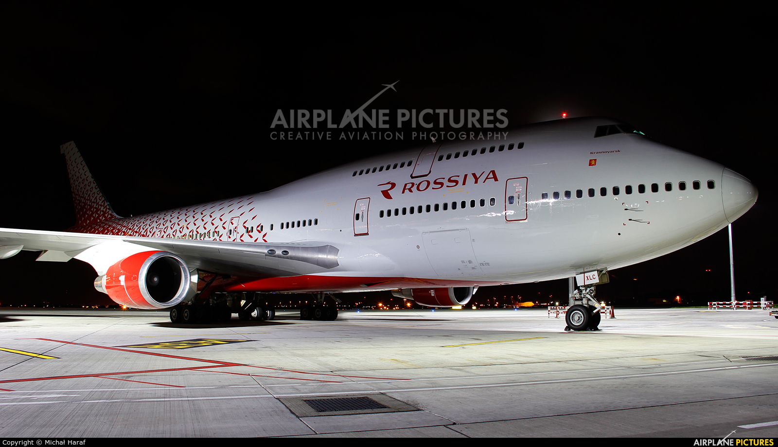 Rossiya EI-XLC aircraft at Dublin