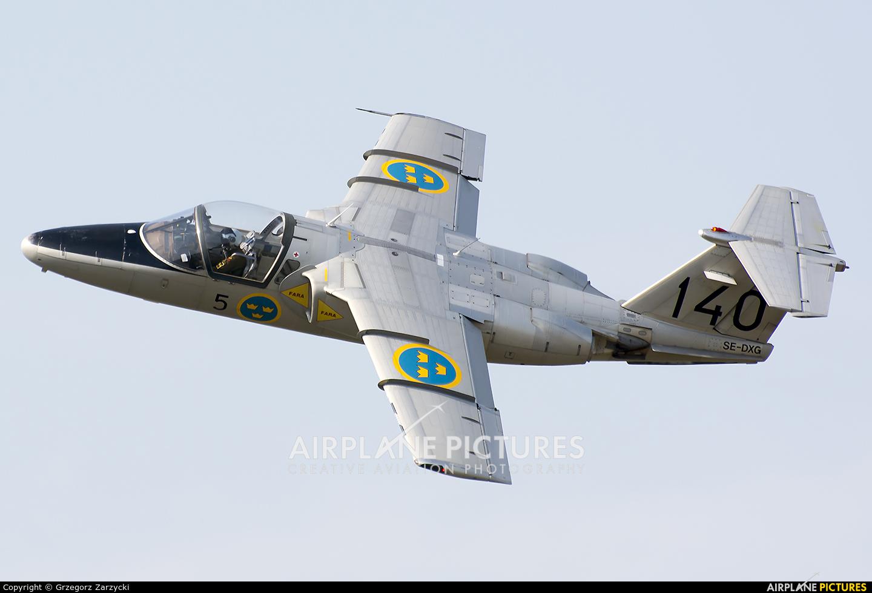 Swedish Air Force Historic Flight SE-DXG aircraft at Poznań - Ławica