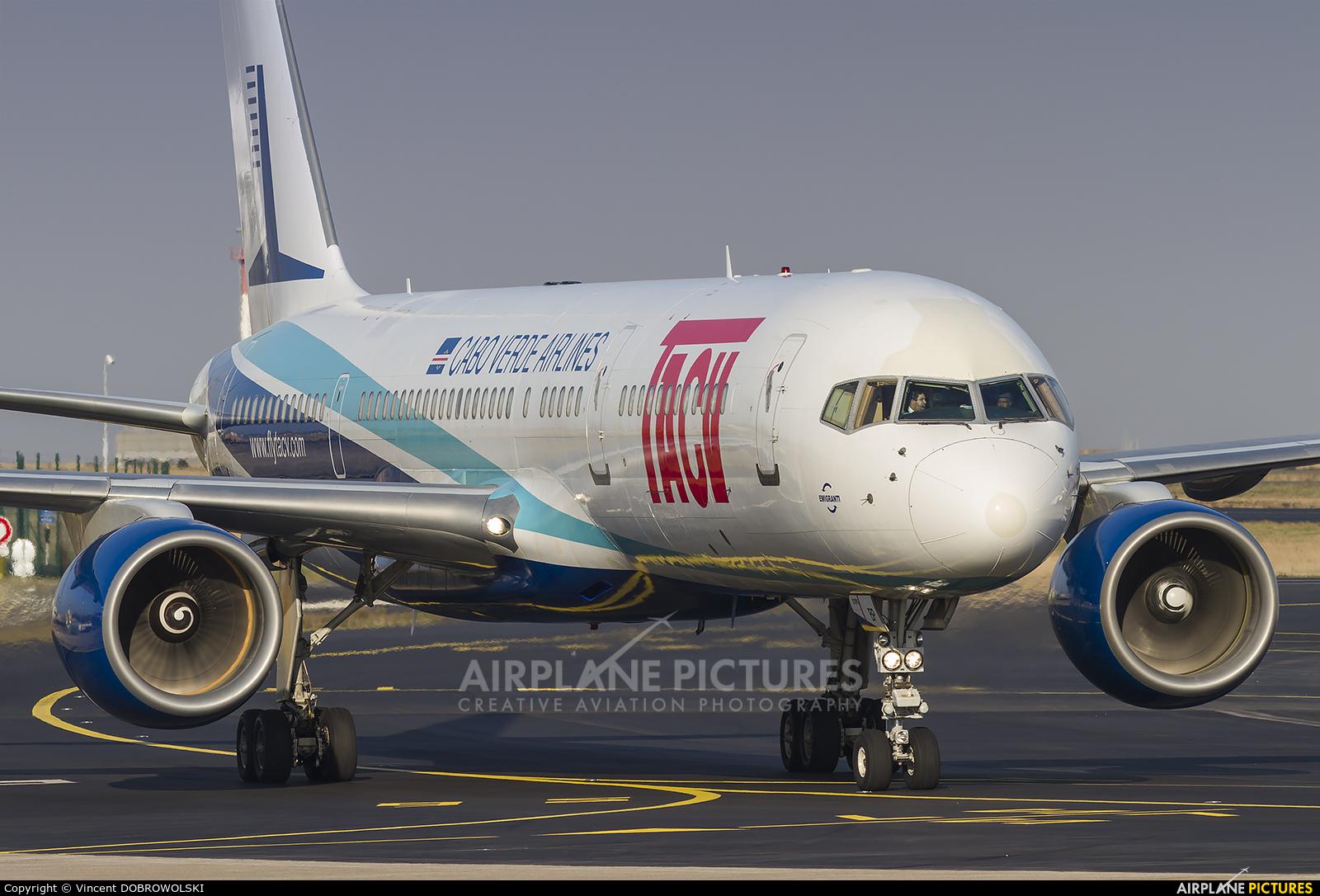 TACV-Cabo Verde Airlines D4-CBP aircraft at Paris - Charles de Gaulle