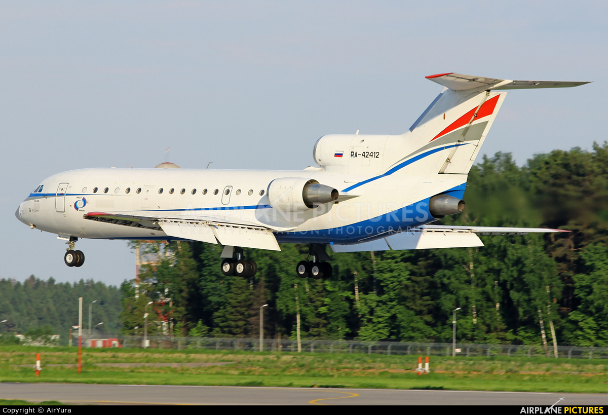 Rusjet Aircompany RA-42412 aircraft at Moscow - Vnukovo