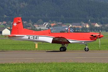 A-941 - Switzerland - Air Force: PC-7 Team Pilatus PC-7 I & II