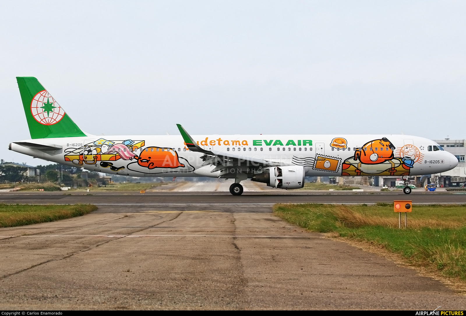 Eva Air Airbus A321 B-16205