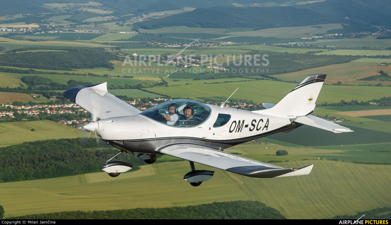 SkyService Flying School OM-SCA aircraft at In Flight - Slovakia