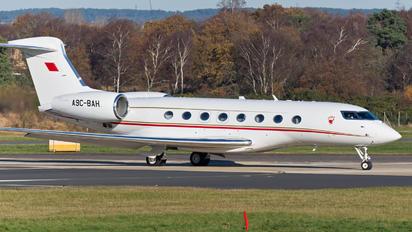 A9C-BAH - Bahrain Amiri Flight Gulfstream Aerospace G650, G650ER
