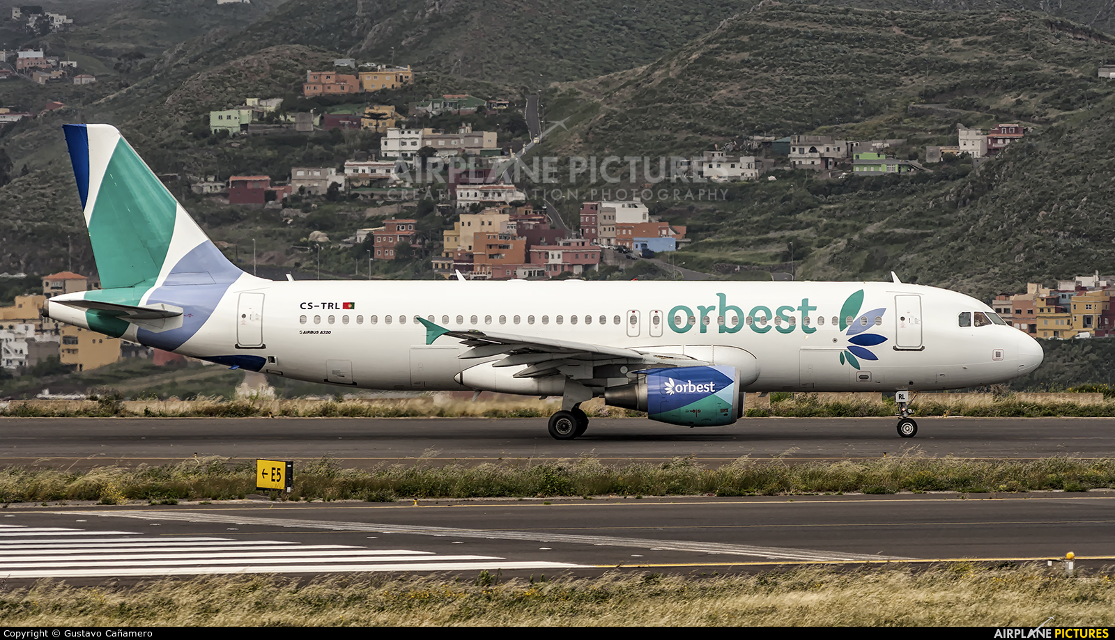 Orbest CS-TRL aircraft at Tenerife Norte - Los Rodeos