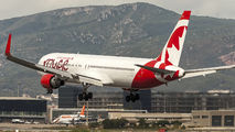 C-FMLV - Air Canada Rouge Boeing 767-300ER aircraft
