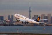 D-ABYK - Lufthansa Boeing 747-8 aircraft