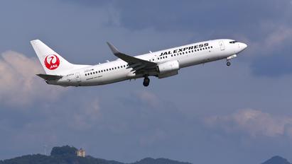 JA343J - JAL - Japan Airlines Boeing 737-800