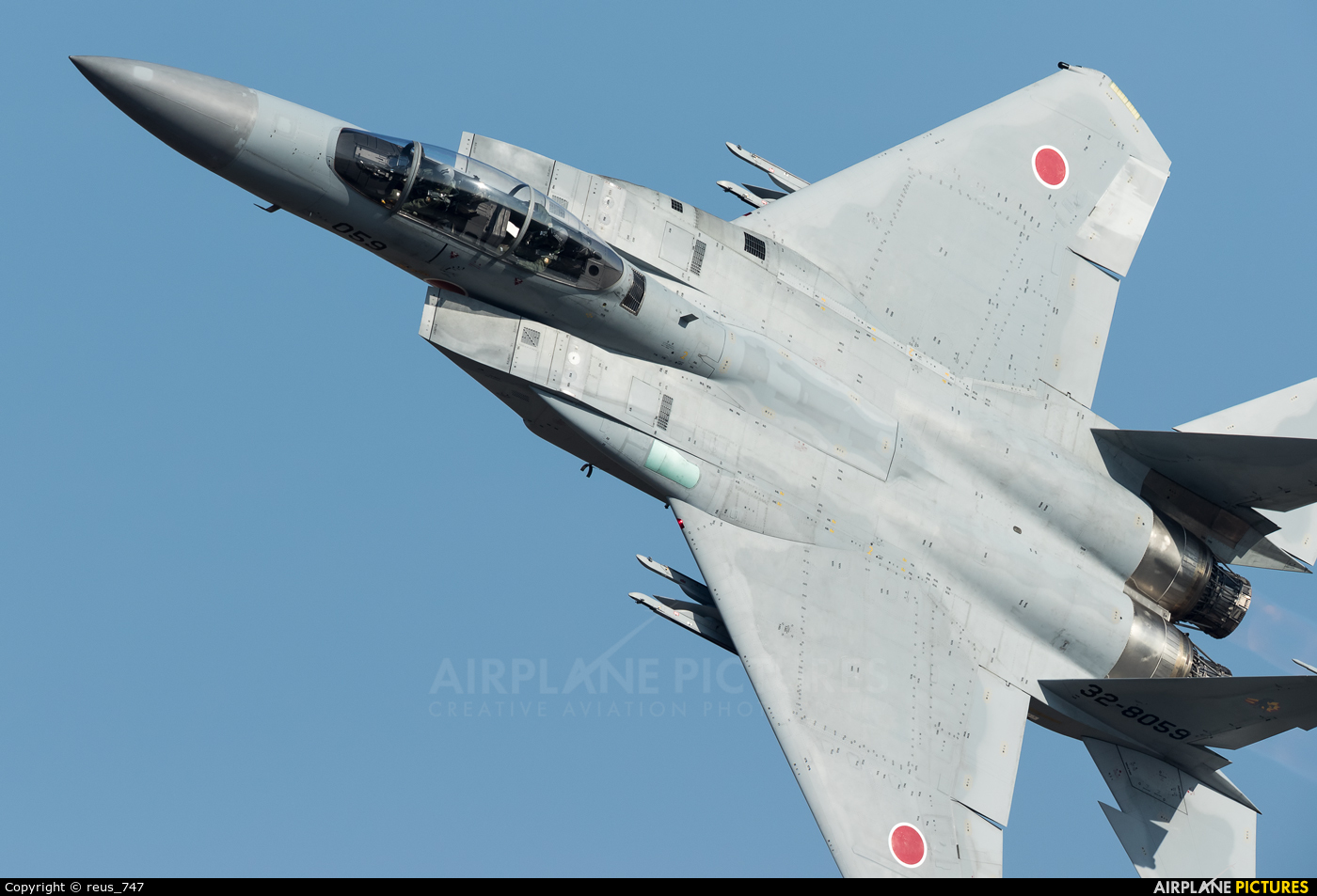 Japan - Air Self Defence Force 32-8059 aircraft at Nyutabaru AB