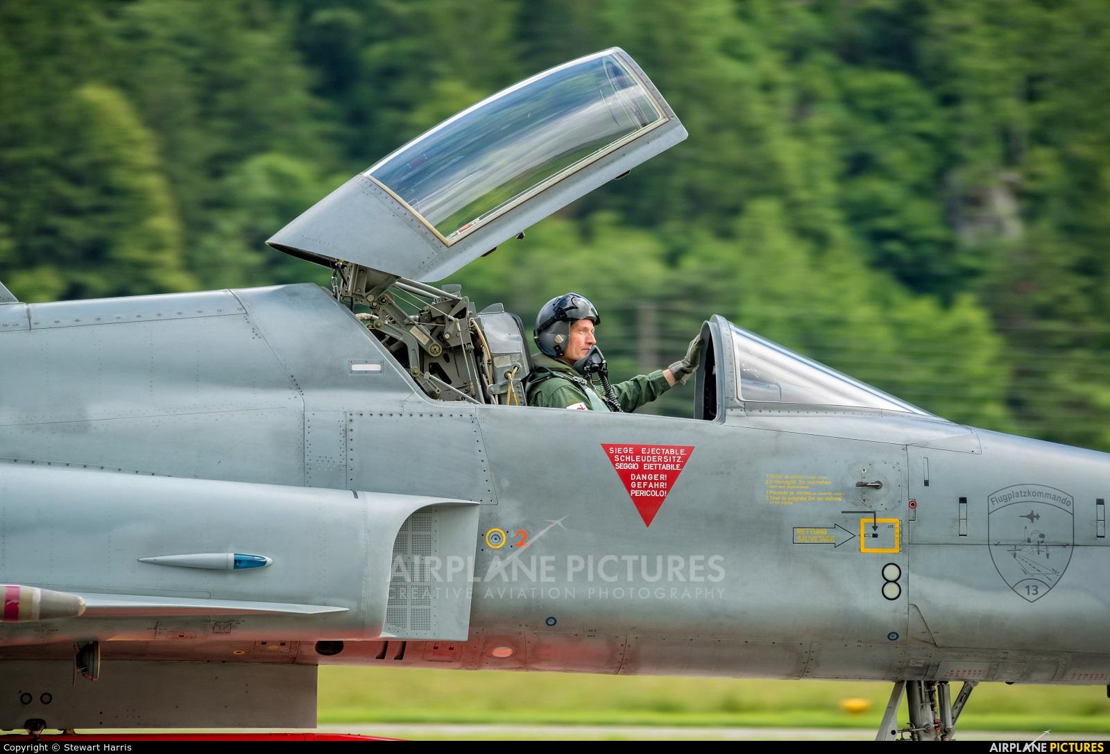 Switzerland - Air Force J-3030 aircraft at Meiringen