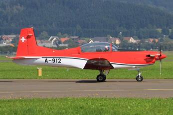 A-912 - Switzerland - Air Force Pilatus PC-7 I & II
