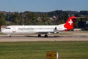 HB-JVC - Helvetic Airways Fokker 100 aircraft