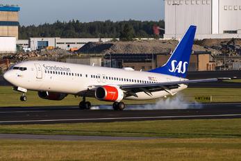 LN-RRK - SAS - Scandinavian Airlines Boeing 737-800