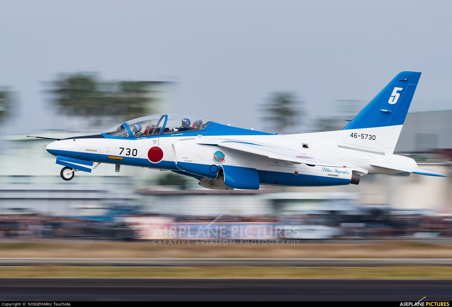 Japan - ASDF: Blue Impulse 46-5730 aircraft at Nyutabaru AB