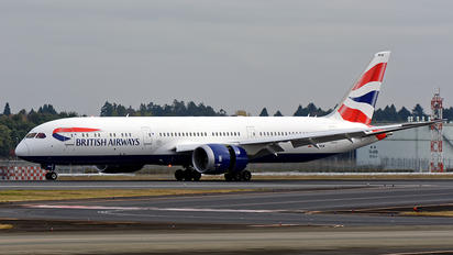 G-ZBKM - British Airways Boeing 787-9 Dreamliner