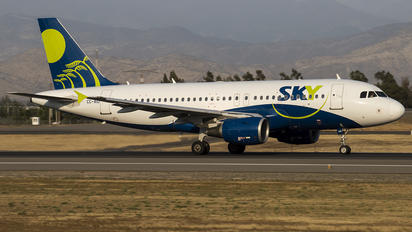 CC-AID - Sky Airlines (Chile) Airbus A319