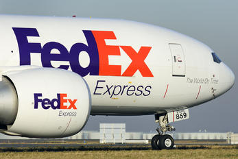 N859FD - FedEx Federal Express Boeing 777F