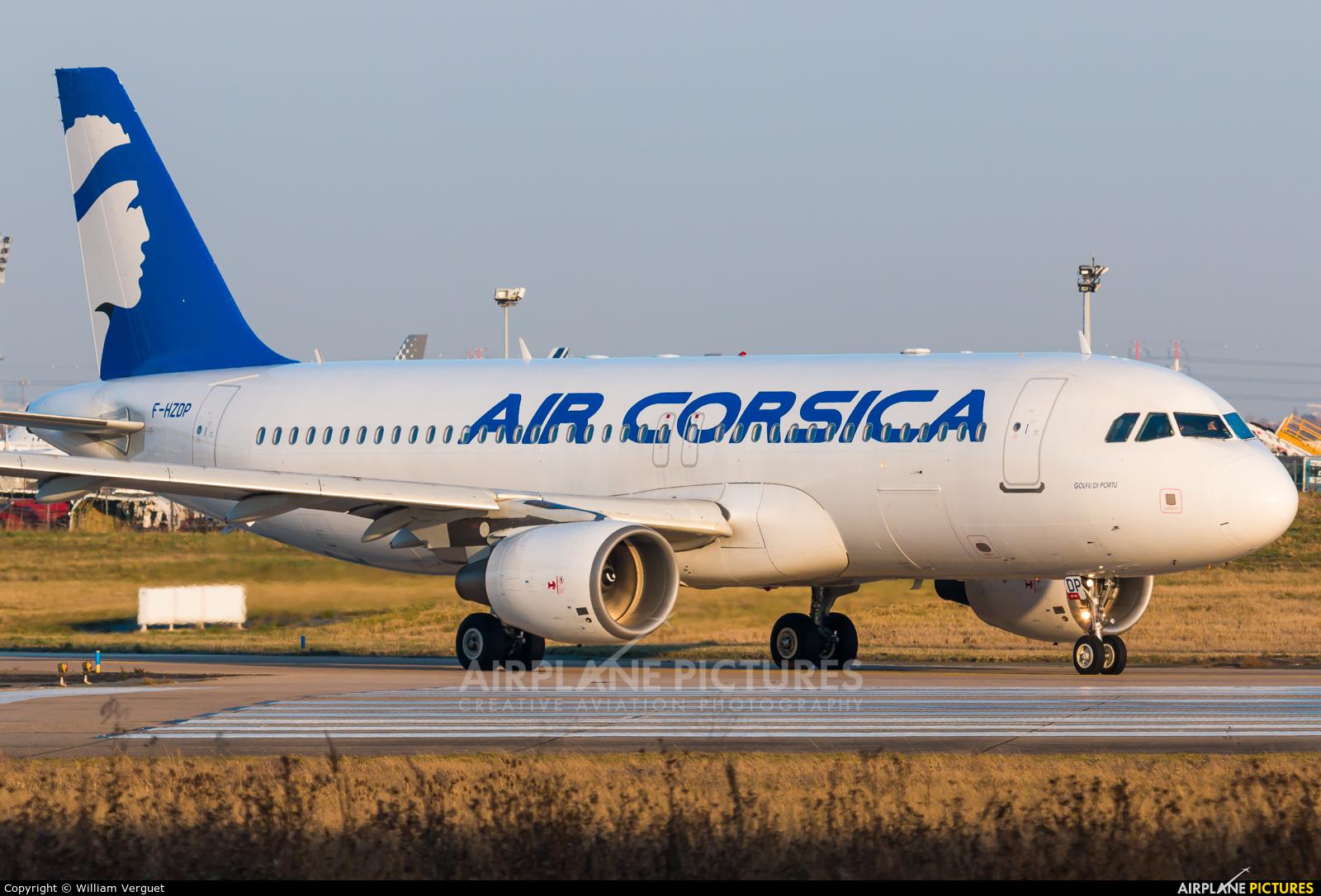 Air Corsica F-HZDP aircraft at Paris - Orly