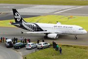 ZK-OJO - Air New Zealand Airbus A320 aircraft