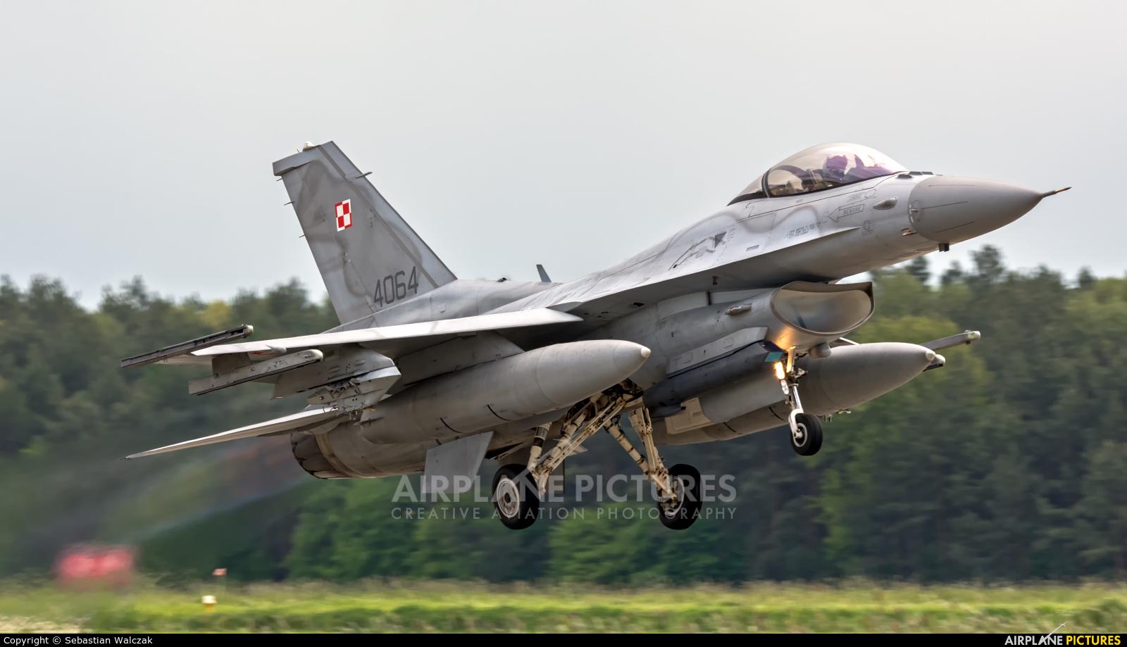 Poland - Air Force 4064 aircraft at Łask AB