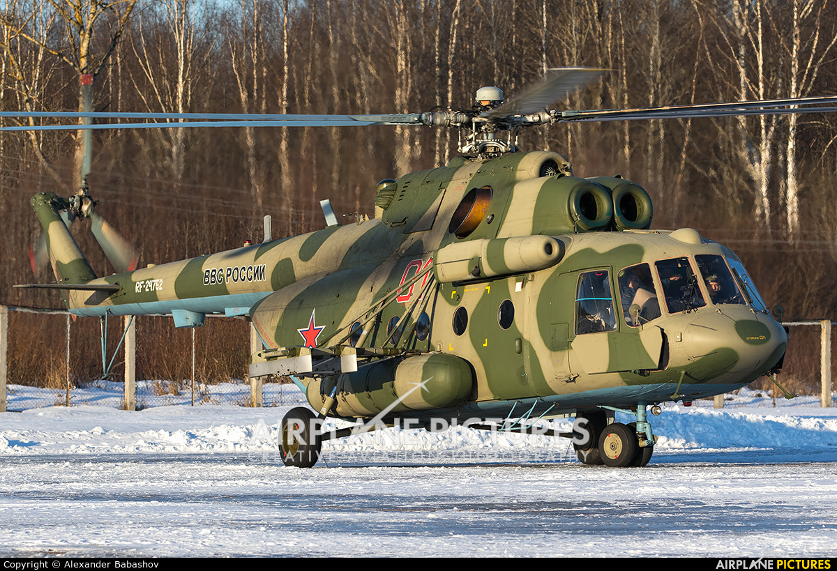 Russia - Air Force Mil Mi-8AMT RF-24762