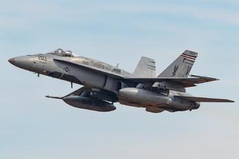 163161 - USA - Marine Corps McDonnell Douglas F/A-18A Hornet