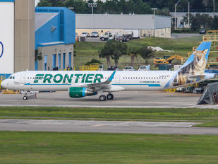 N715FR - Frontier Airlines Airbus A321