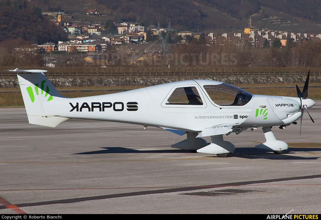 Private I-C610 aircraft at Trento - Mattarello