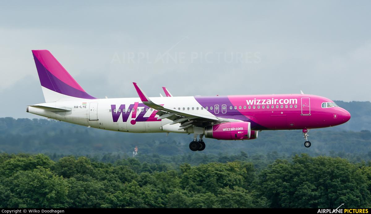 Wizz Air HA-LYE aircraft at Cologne Bonn - Konrad Adenauer