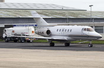 G-KLNE - Saxon Air Hawker Beechcraft 900XP