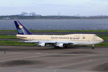 HZ-HM1A - Saudi Arabia - Royal Flight Boeing 747-300
