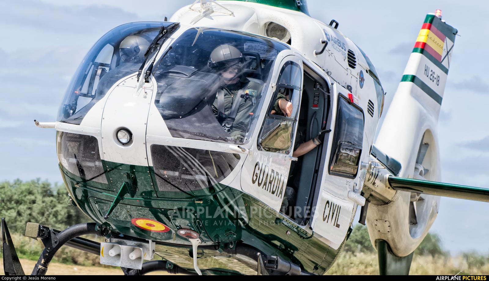 Spain - Guardia Civil HU.26-18 aircraft at La Juliana