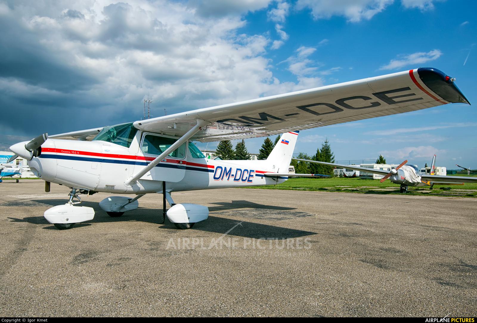 Aeroklub Dubnica nad Vahom OM-DCE aircraft at Nitra