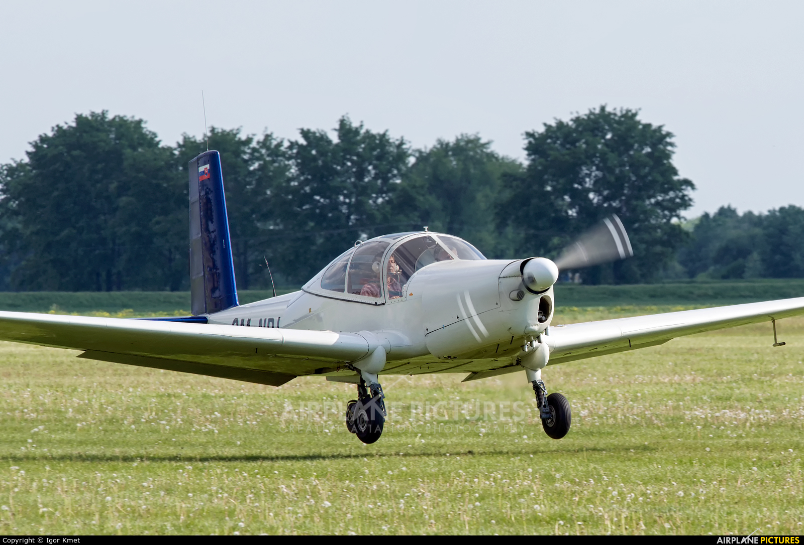 Private OM-NPJ aircraft at Nitra