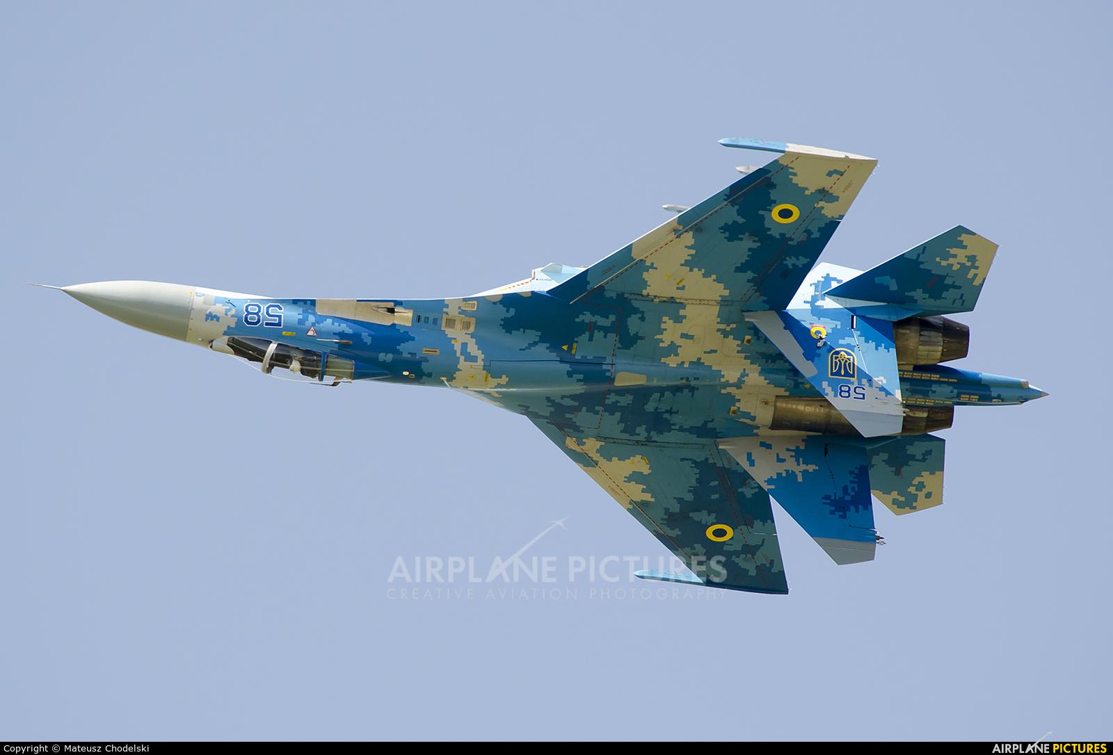 Ukraine - Air Force 58 aircraft at Sliač
