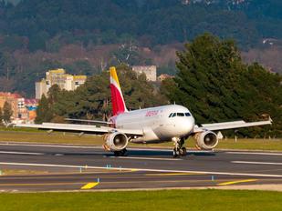 EC-JVE - Iberia Airbus A319