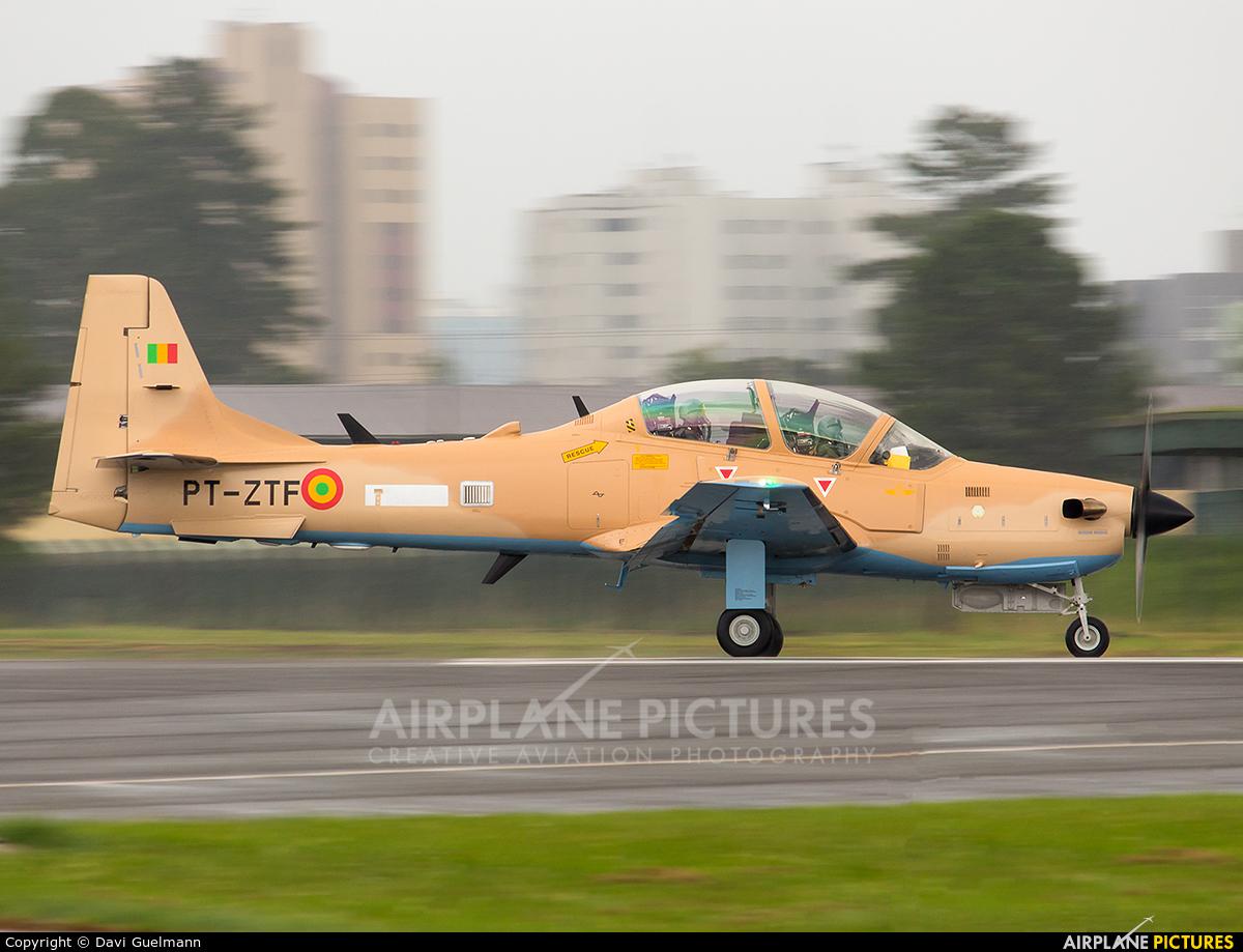Embraer PT-ZTF aircraft at Curitiba - Bacacheri