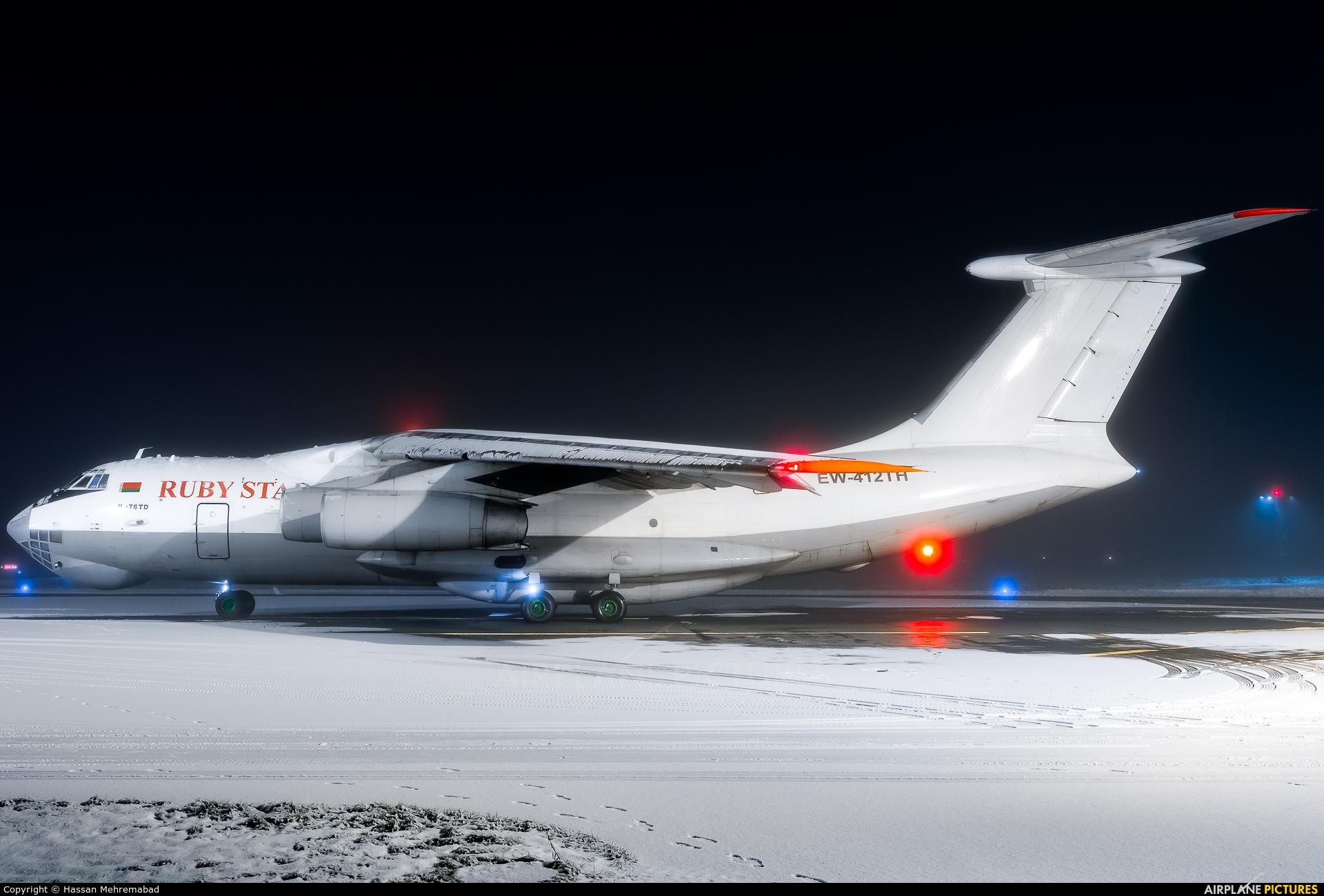 Ruby Star Air Enterprise EW-412TH aircraft at Tampere-Pirkkala