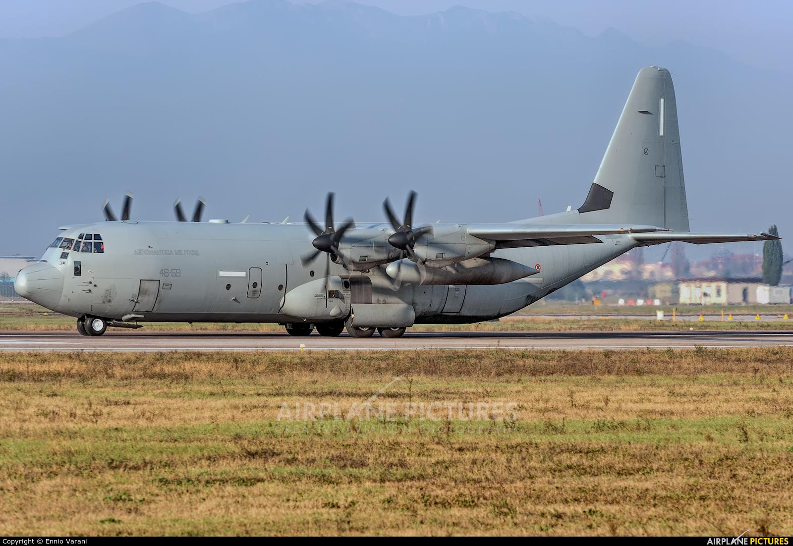 Italy - Air Force MM62193 aircraft at Verona - Villafranca