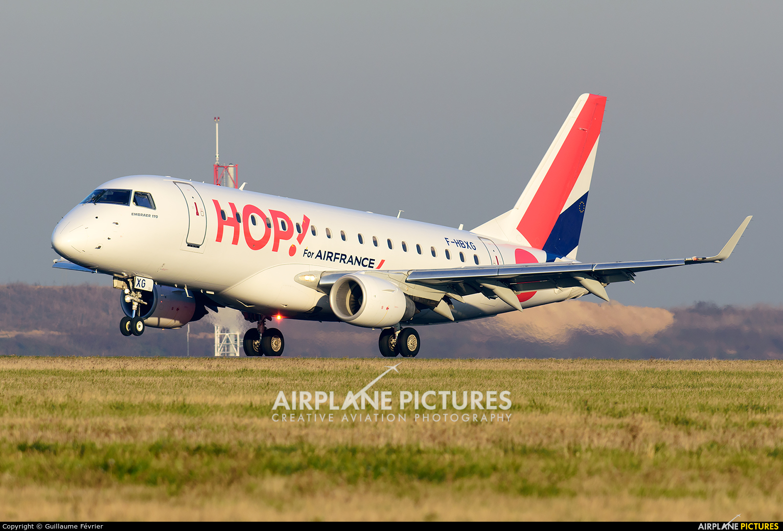 Air France - Hop! F-HBXG aircraft at Paris - Charles de Gaulle