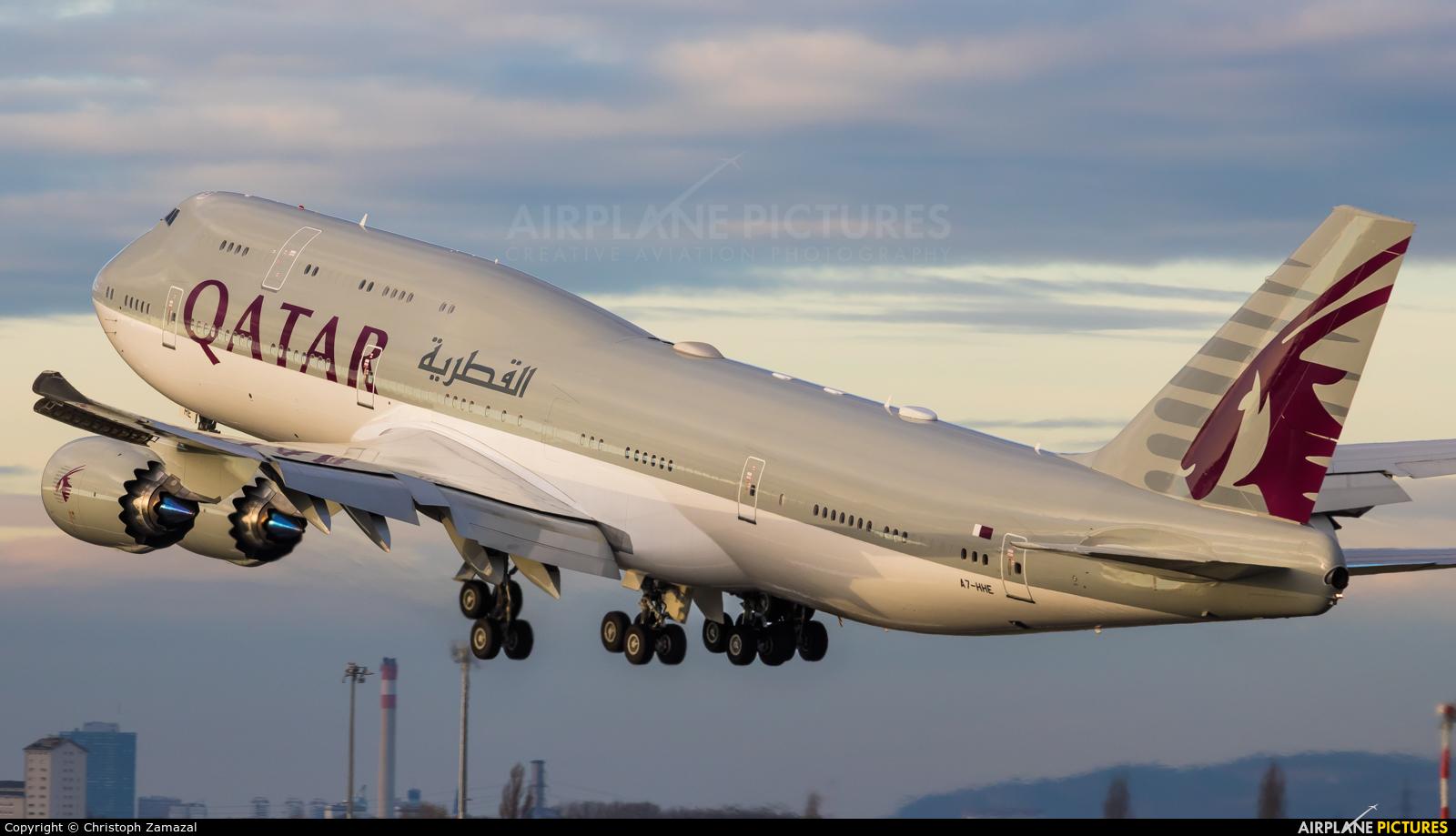 Qatar Amiri Flight A7-HHE aircraft at Vienna - Schwechat