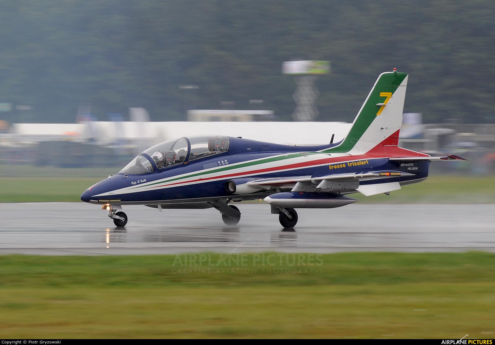 "Italy - Air Force ""Frecce Tricolori"" MM55058 aircraft at Ostrava Mošnov"