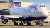G-BNLW - British Airways Boeing 747-400 aircraft