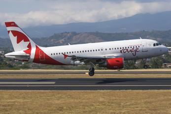 C-GJVY - Air Canada Rouge Airbus A319