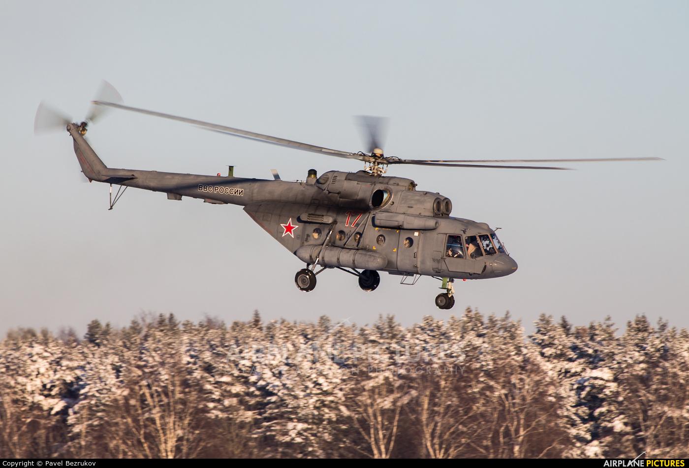 Russia - Air Force 17 aircraft at Ivanovo - Yasunikha