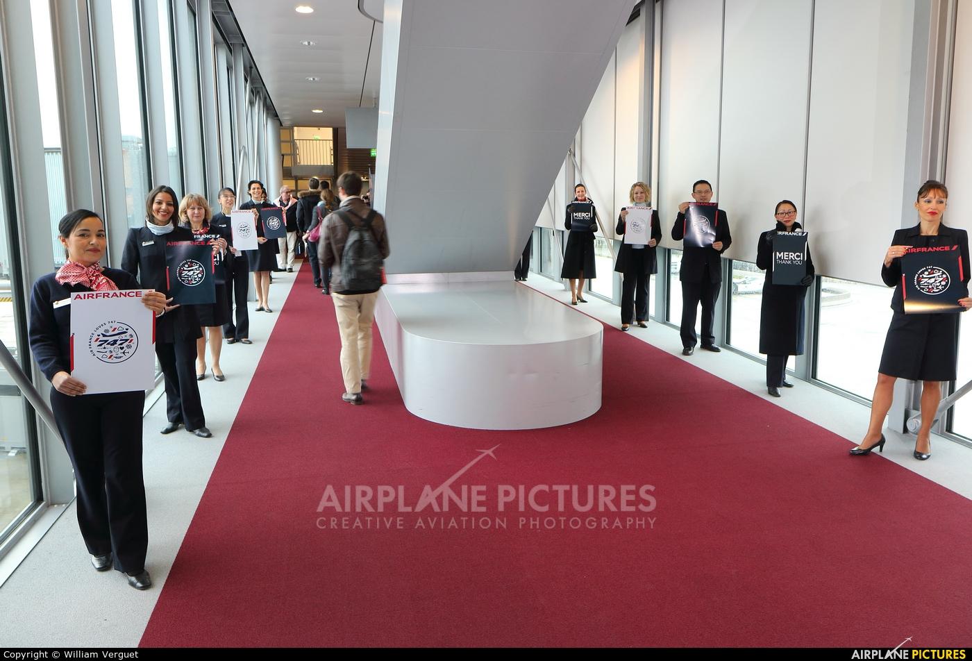 Air France - aircraft at Paris - Charles de Gaulle