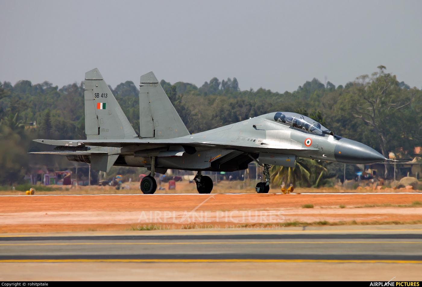 India - Air Force SB413 aircraft at Yelahanka AFB